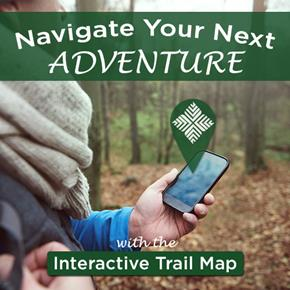 Interactive Trail Map Ad