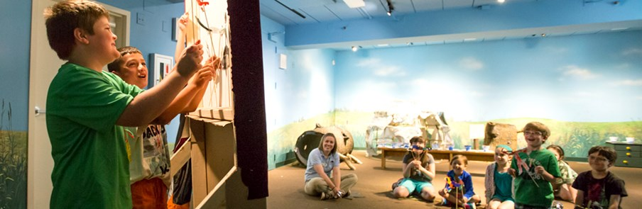 Education at the Lake County Discovery Museum